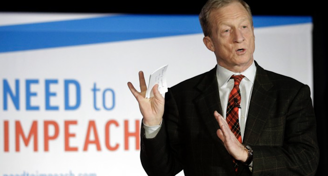 Tom Steyer Is Telling Allies He's Running for President: