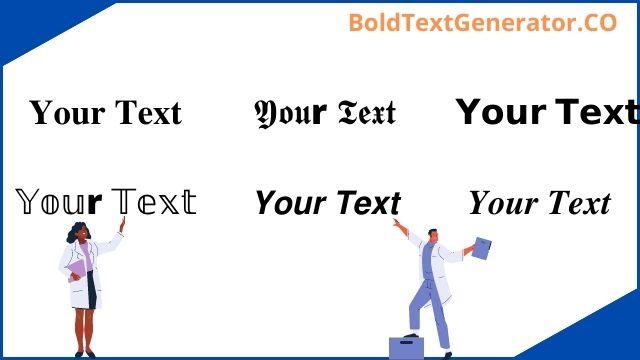 Bold Text Generator