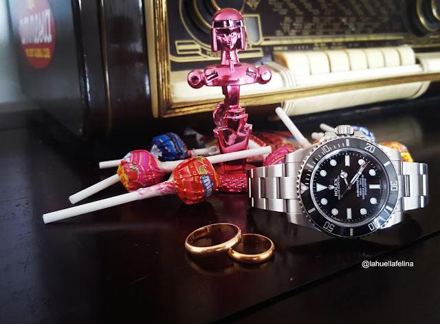 Reloj compromiso regalo pedida boda