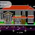 مخطط مشروع منزل صغير مع مرآب اوتوكاد dwg