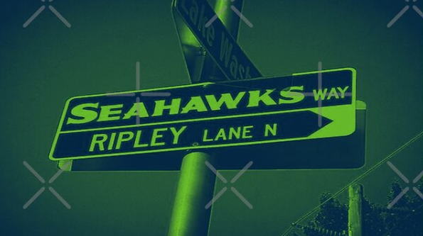 Seahawks Way & Ripley Lane, Renton, Washington by Mistah Wilson