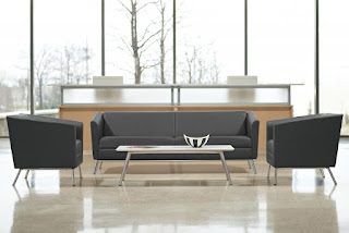 Gray Waiting Room Furniture at OfficeAnything.com