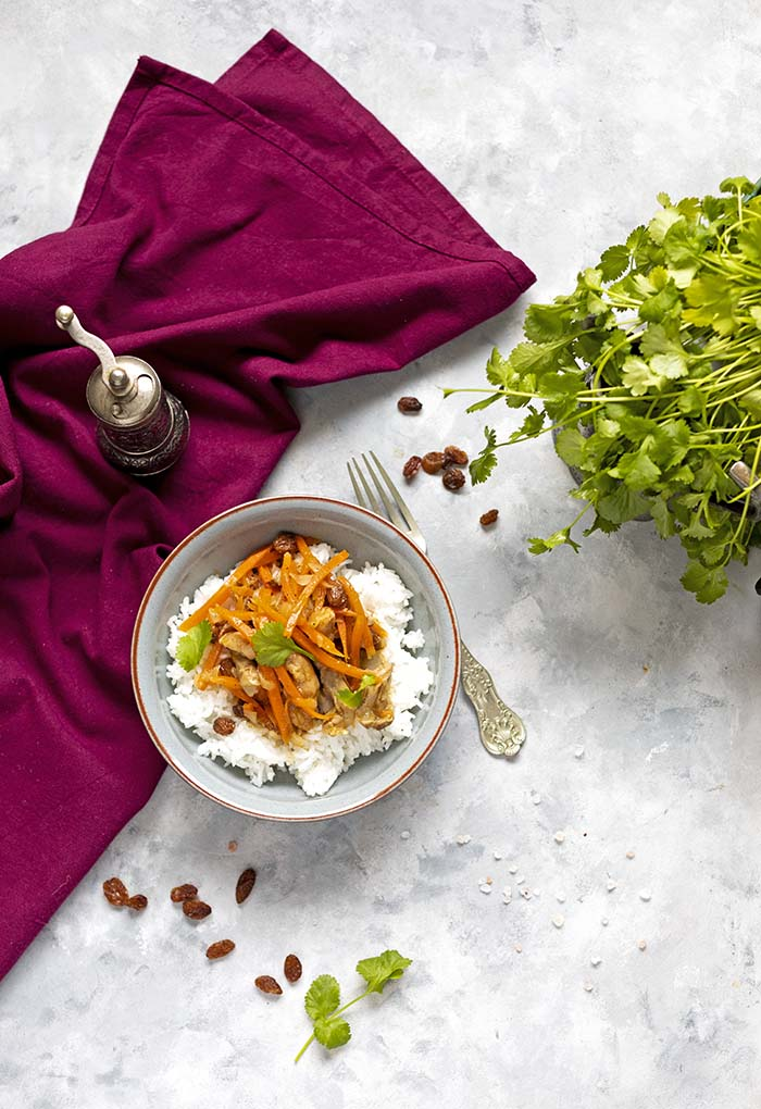 perska potrawka z kurczaka