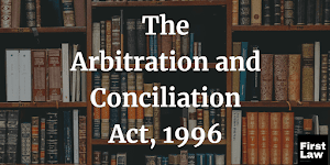 Procedure for Appointment of Substitute Arbitrator [JUDGMENT]