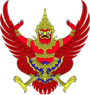 Gambar Lambang negara Thailand