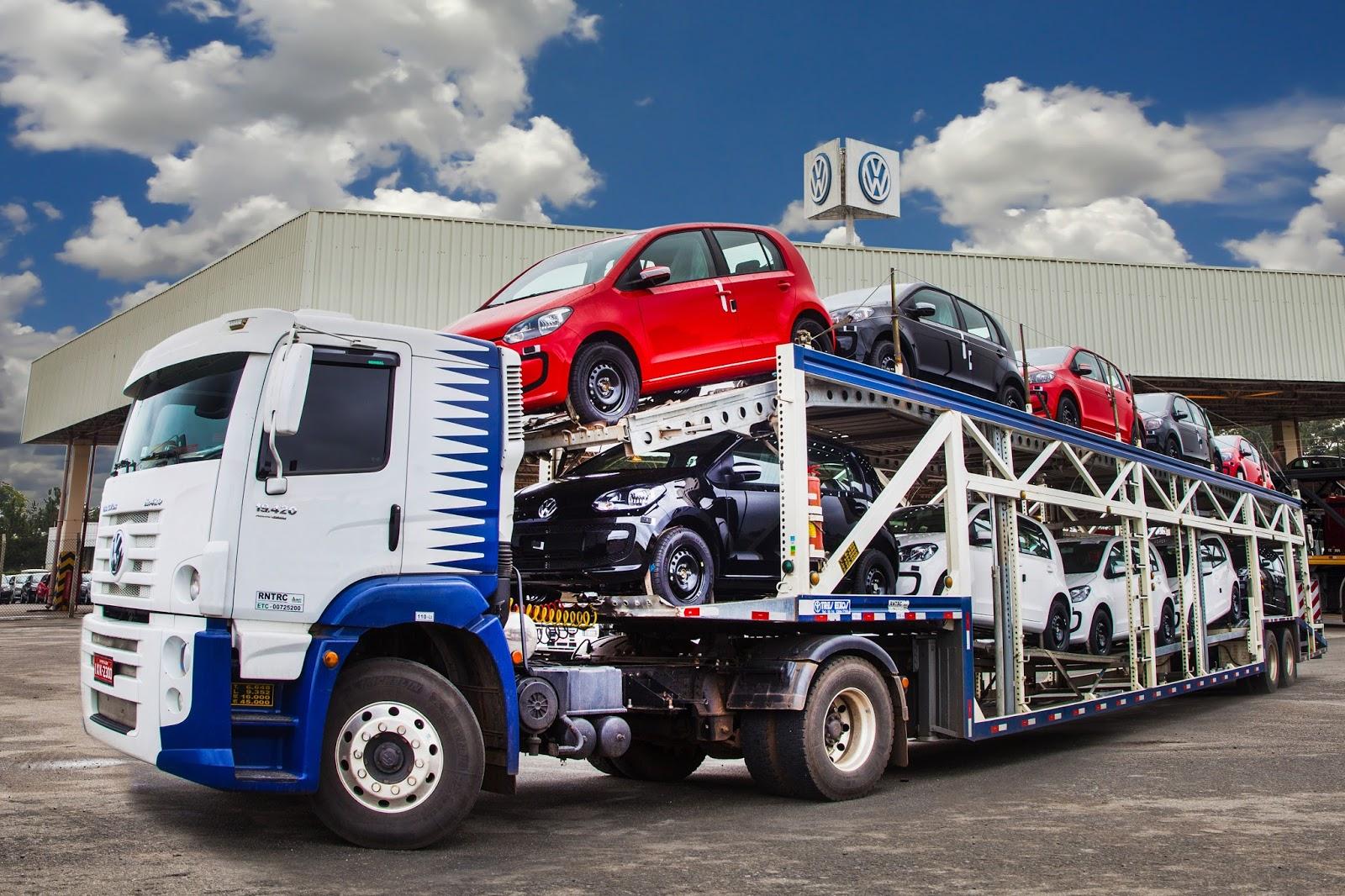 Volkswagen se firma como maior exportadora de carros do Brasil, com 3,5 milhões de unidades