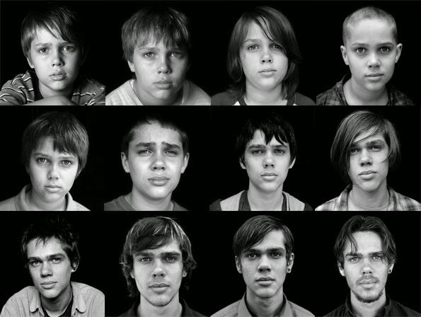Evolución en Boyhood