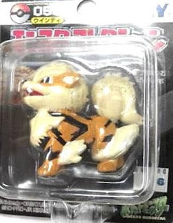 Arcanine Pokemon figure Tomy Monster Collection black package series