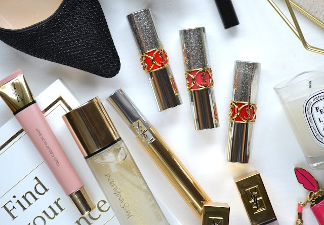 YSL Rouge Volupte Rock'N Shine Lipsticks Review
