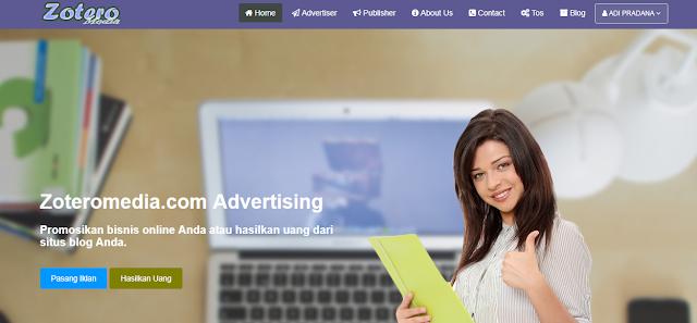 Promosi di Zoteromedia.com | adipraa.com
