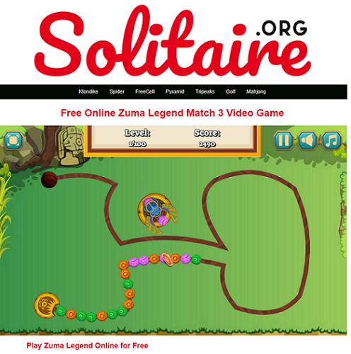 main game solitaire percuma