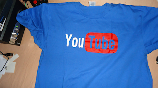 مراجعة قميص t-shirt صيفي يحمل شعار اليوتيوب Youtube