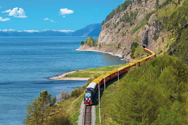 Ferrovia Transiberiana - Lago Baikal