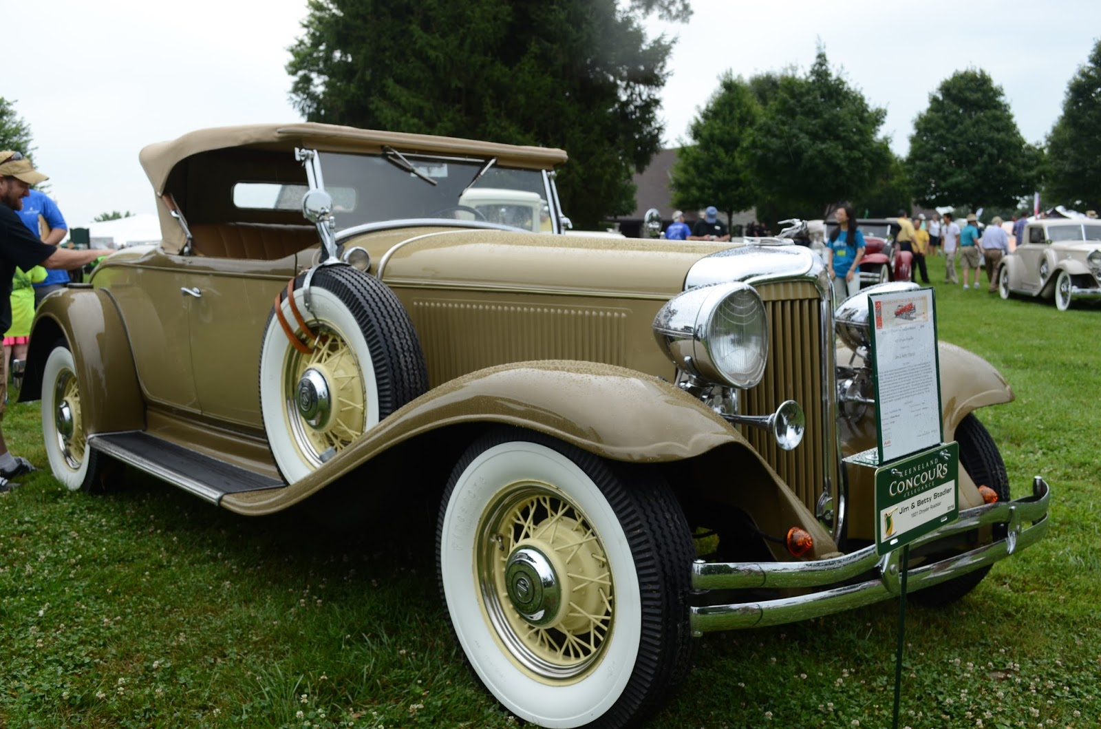 Turnerbudds Car Blog Early Chryslers At Keeneland 1949 Chrysler Town Country 1931 Roadster A 1930 Model 70 Royale Coupe New Yorker Highlander Convertible And 1941