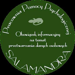 Dobry psycholog Warszawa - Obowiązek informacyjny na temat przetwarzania danych osobowych. RODO
