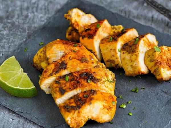 Пиле с лайм и кориандър