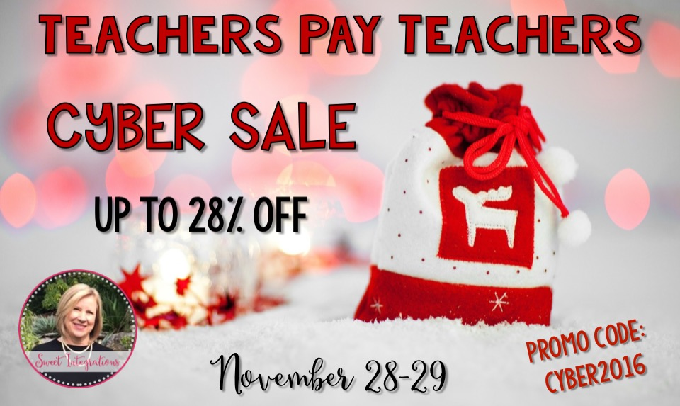 It's Teachers Pay Teachers Cyber Sale. Take a look at my holiday products that include writing, PBL, legends, lapbooks, and more...