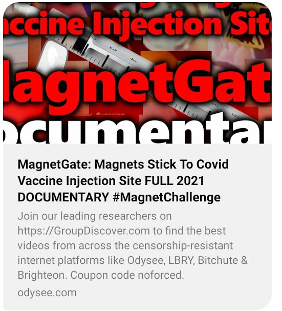 12 Virologists Are Blacklisted, Censored And Banned From Speaking On Any Mass Media About Covid-19 'Vaccines', Pandemics, Or Viruses  Magnets%2Bsticking%2Bto%2Binjection%2Bsite%2BRosco%2BRafael%2BRivera%2BIII