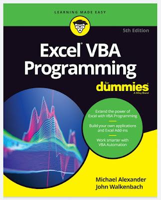 [Free ebook]Excel VBA Programming for Dummies 2019 PDF by John Walkenbach