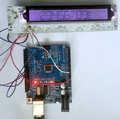 Arduino SC75823 13-Segment LCD Display