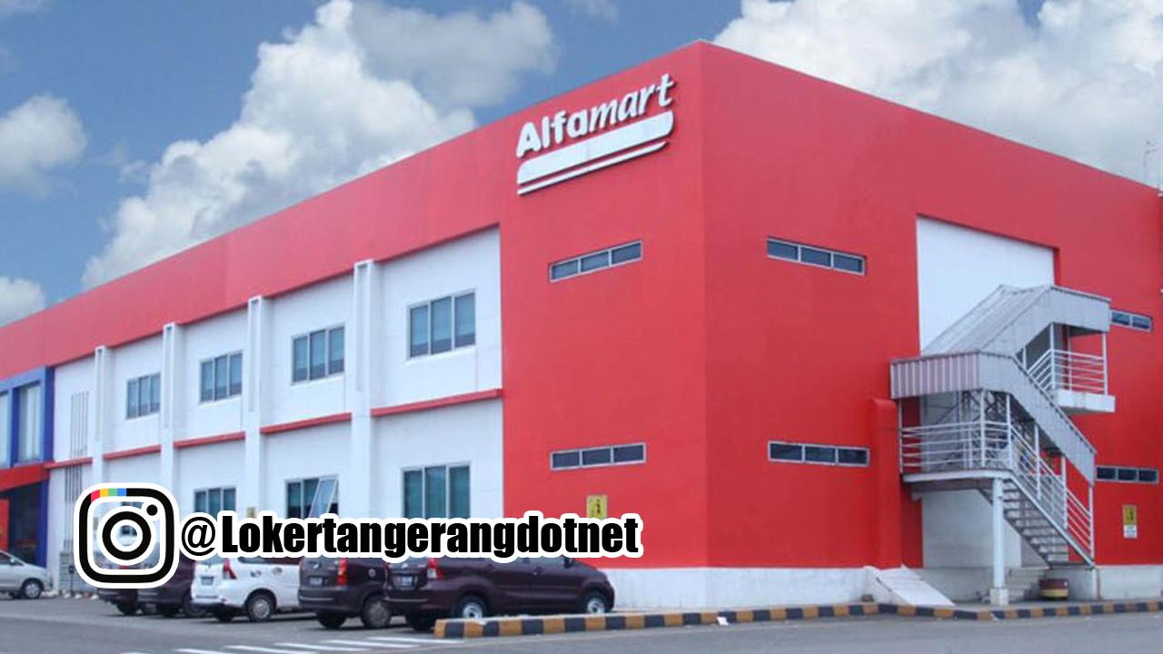 Lowongan Kerja Alfamart Branch Cikokol Tangerang