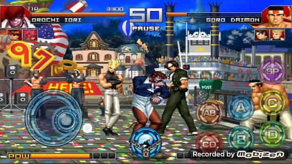 أقدم لعبة مشهورة وبجودة HD THE KING OF FIGHTERS