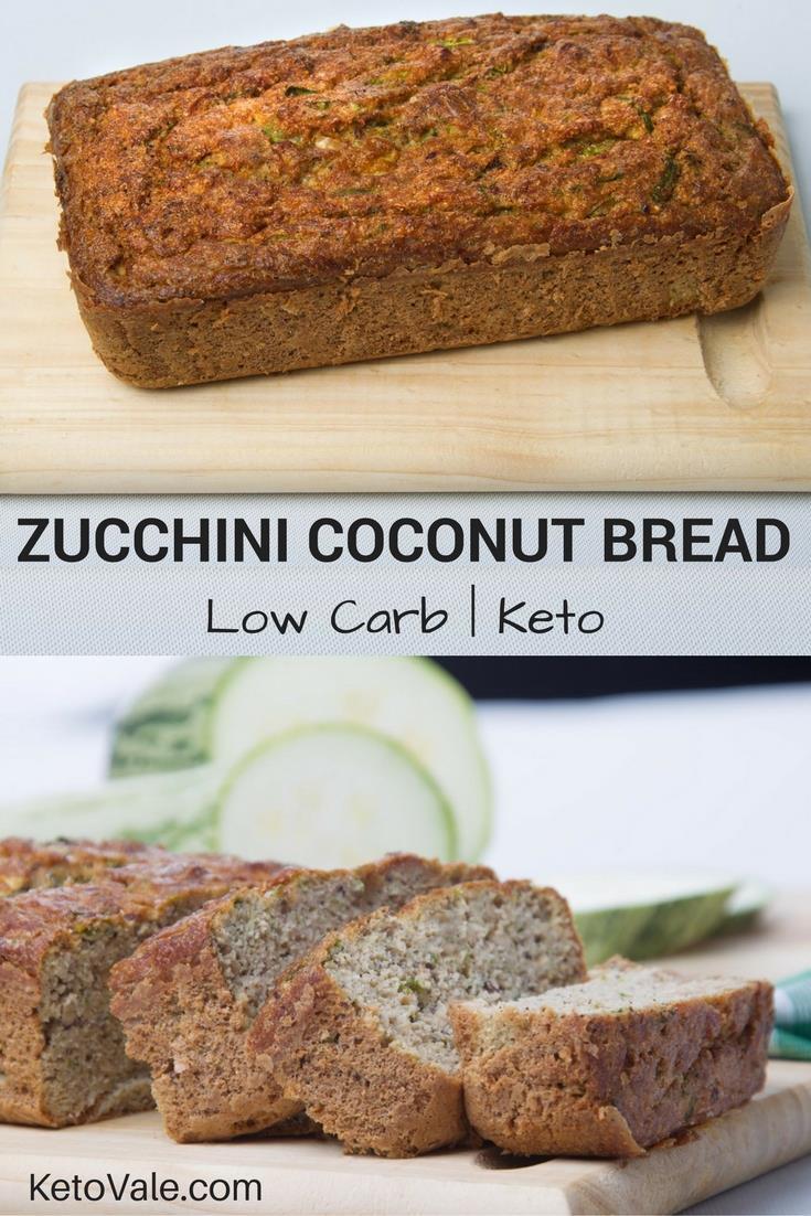 Keto Zucchini Bread With Coconut Recipes
