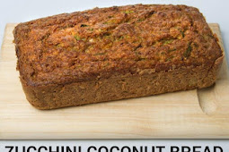 Keto Zucchini Coconut Bread Recipes