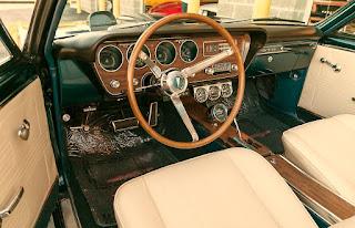 1967 Pontiac LeMans GTO Convertible Interior Cabin