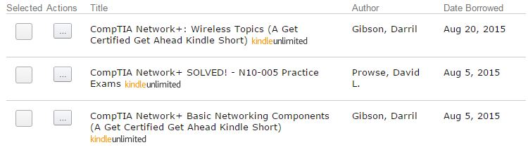 CompTIA Network+: Wireless Topics (A Get Certified Get Ahead Kindle Short)