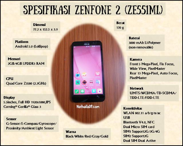 spesifikasi asus zenfone 2