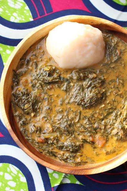 fumbwa recette feuilles séchées congo