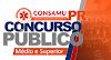 Consamu PR abre concurso com vagas para Médio, Técnico e Superior! R$ 9.644,29.