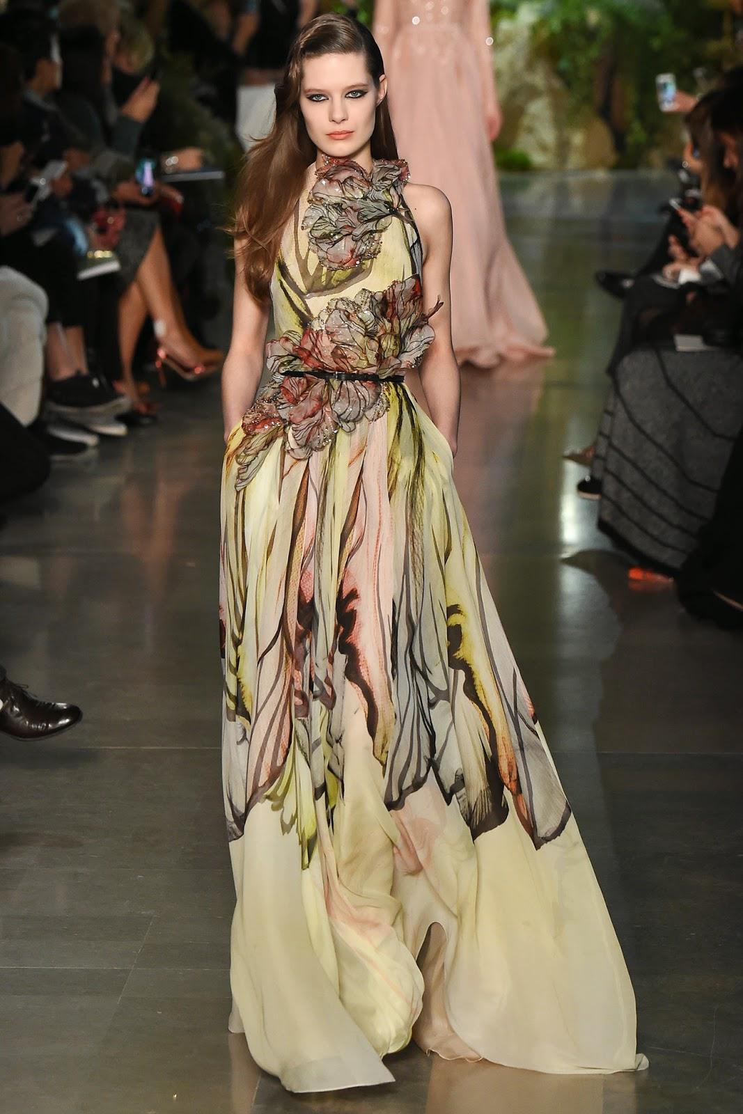 Runway report paris couture fashion week elie saab for Haute couture shop