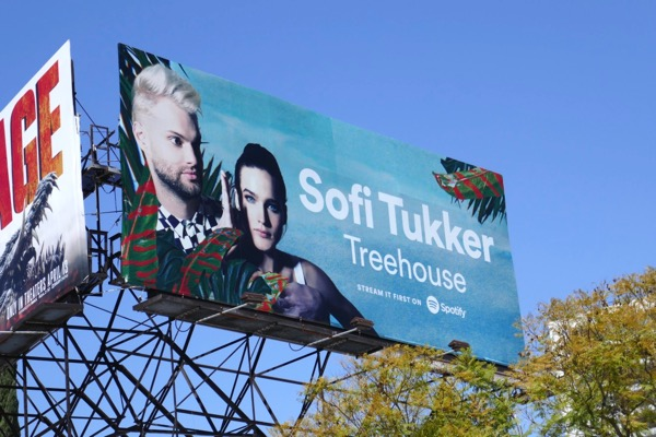 Sofi Tukker Treehouse Spotify billboard
