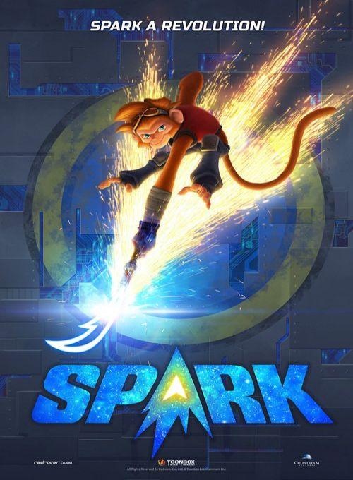 Spark Uma Aventura Espacial Dublado