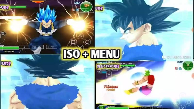 Dragon Ball Z Game TTT MOD ISO HD + Menu For PSP