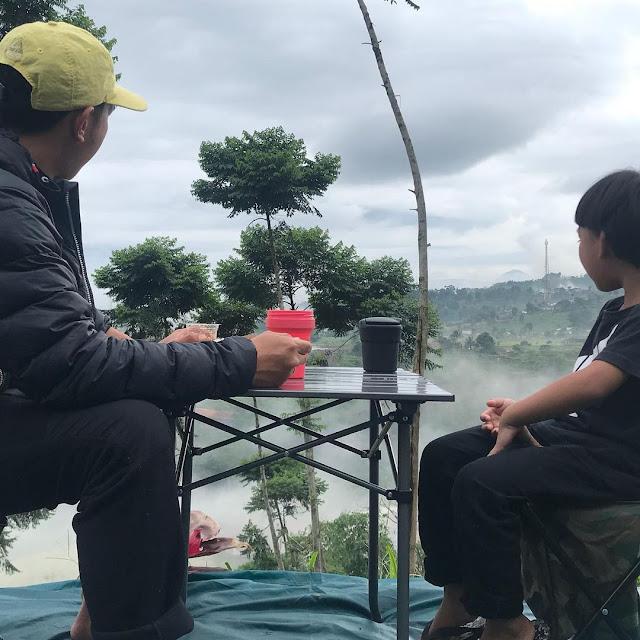 Camping di Bogor Murah dengan View Bagus
