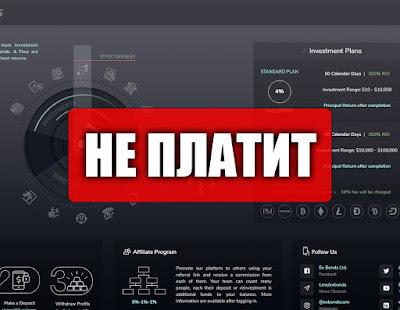 Скриншоты выплат с хайпа exbonds.com