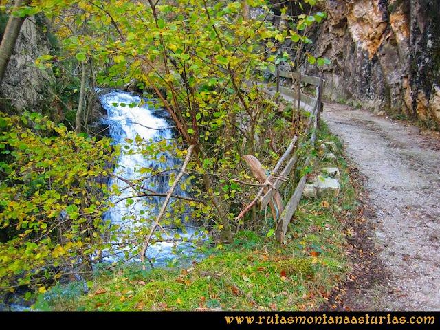 Ruta Cuyargayos: Camino por la foz Nozalín