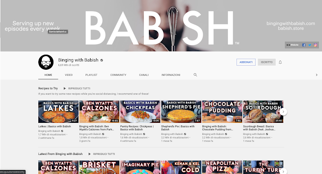 binging with babish, scarlet pasta from movie chef, chef show, jon favreau, roy choi, favourite cuisine show on youtube