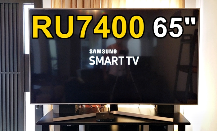 Smart tv Samsung RU7400 para este año 2020 review completa español