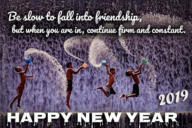 New Year 2019 Quotes for Friends
