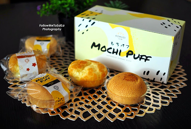 Mochi Puff, Wafu Cream Puff
