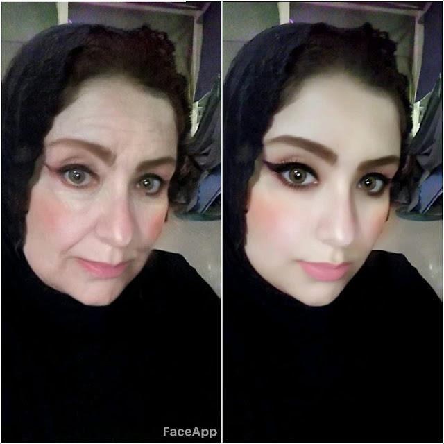 تحميل تطبيق FaceApp لتحويل من بنت الى ست عجوزة