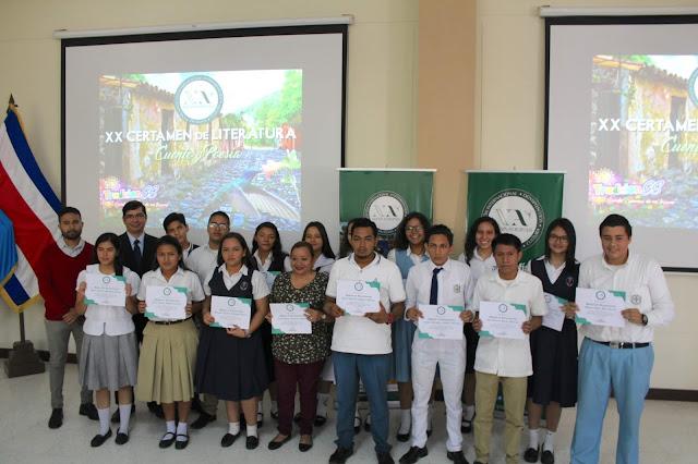 Finalistas Categoría Cuento del XX Certamen de Literatura en Cuento y Poesía de Nueva Acrópolis Santa Ana