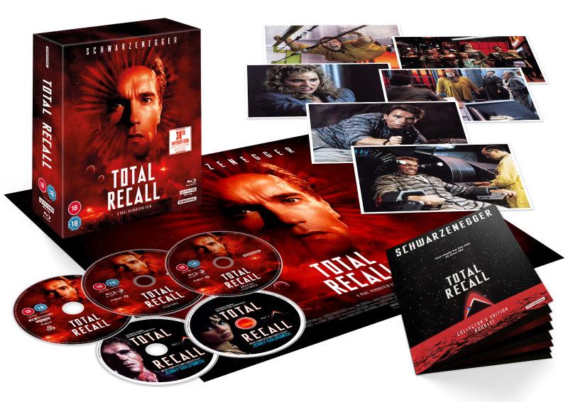 total recall 5 disc collectors edition packshot