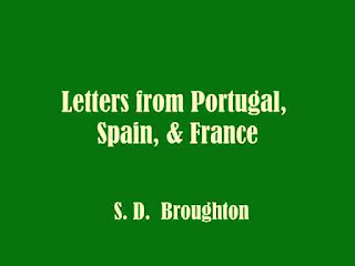 Letters from Portugal, Spain, & France