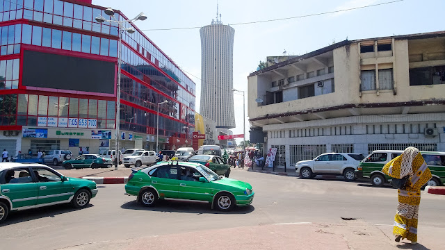 Nabemba Tower has 106 meters and is bigger than any building in the Congo
