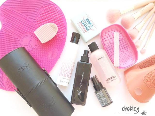 Limpieza_y_Cuidados_de_mis_Brochas_de_Maquillaje_ObeBlog
